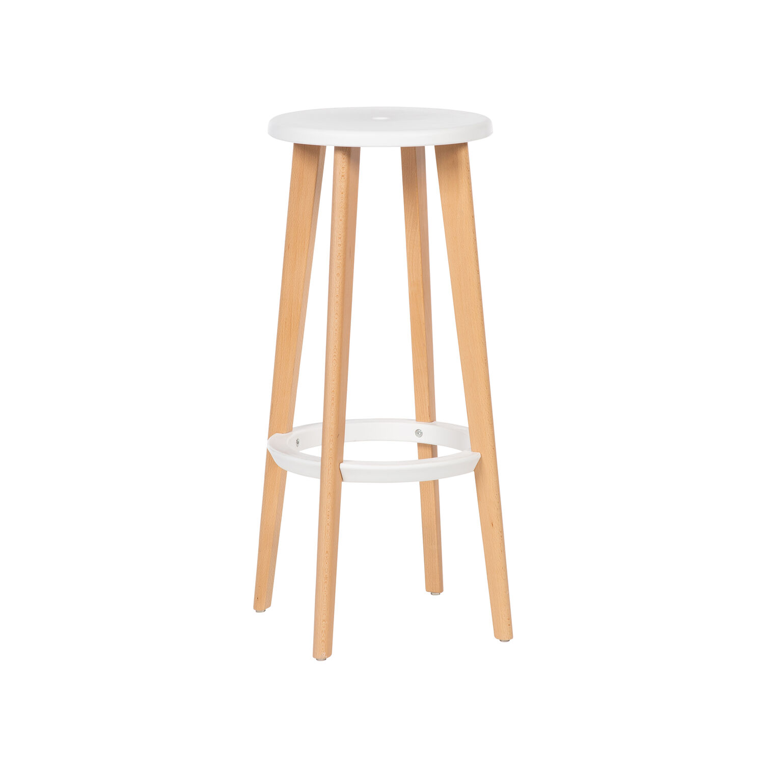 Nora High Stool White (2)